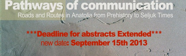 **Deadline for abstracts extended** New date: 15/9/2013